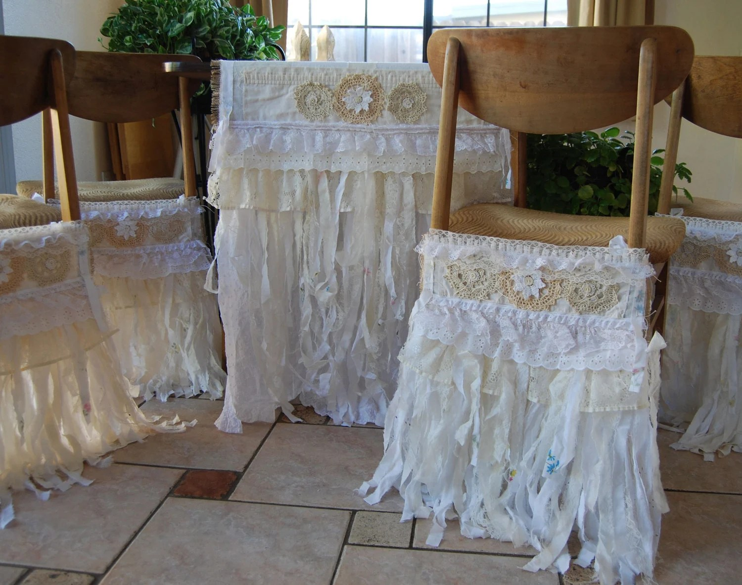 burlap chair sashes canada rustic occasional chairs reserved for nicole vintage and lace large table