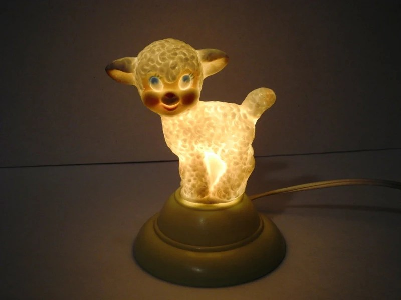 age for high chair chairs from target vintage night light baby lamb childs decor rubber