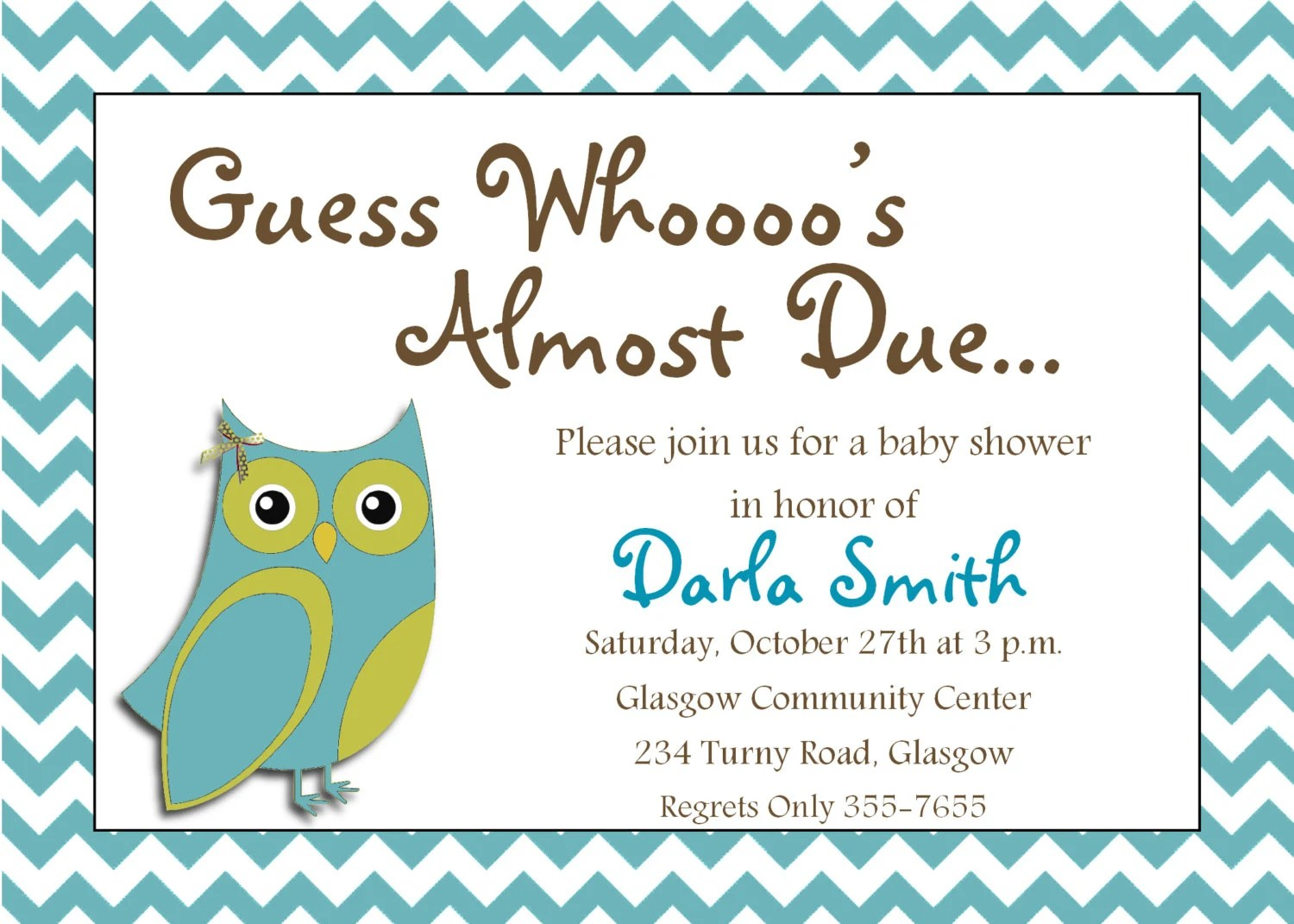 Cute Owl Wallpaper Border Items Similar To It S A Boy Printable Owl Baby Shower