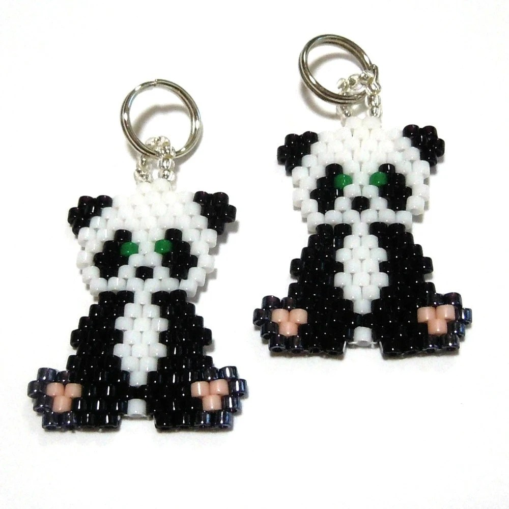 Seed Bead Panda Patterns