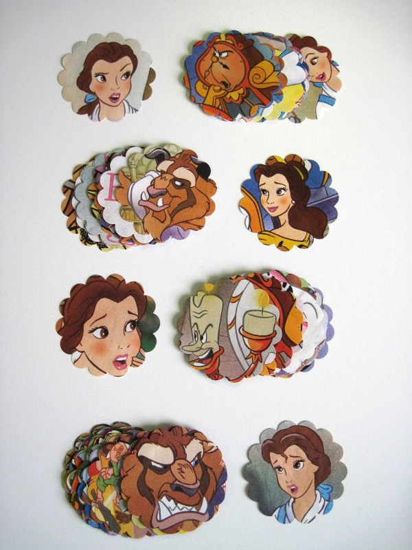 Beauty And Beast Disney Recycled Paper Punches