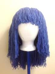 handmade crochet yarn hair wig