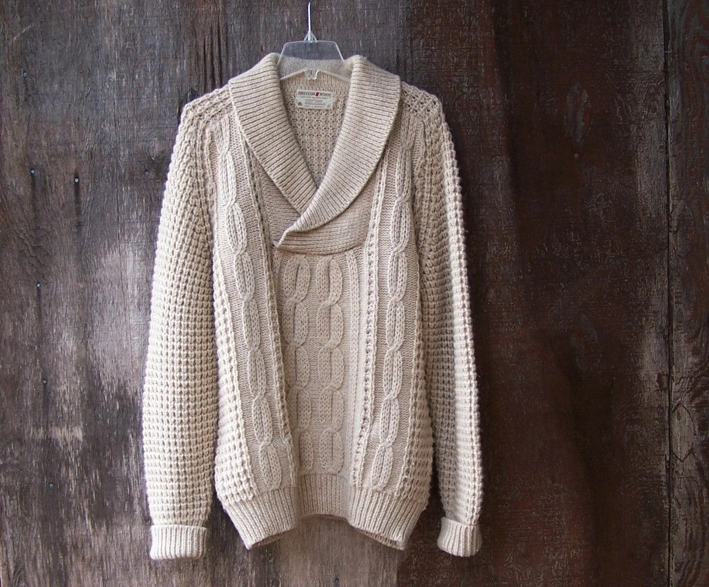 Cable Fishermans Sweater