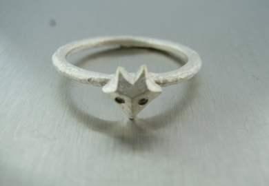 Black Diamond Ring Etsy