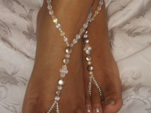 Bridal Jewelry Barefoot Sandals Wedding Foot