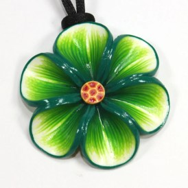 Spring Flower Necklace by ShuliDesigns
