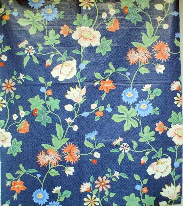 Glazed Cotton Chintz Fabric