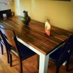How To Build Your Own Kitchen Island Hutch Cabinet Fazenda Reclaimed Distressed Wood Dining Table / Farmhouse