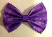 items similar purple hair bow