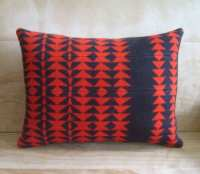 Pillow Pendleton Wool Fabric Arrow Native Geometric Tribal