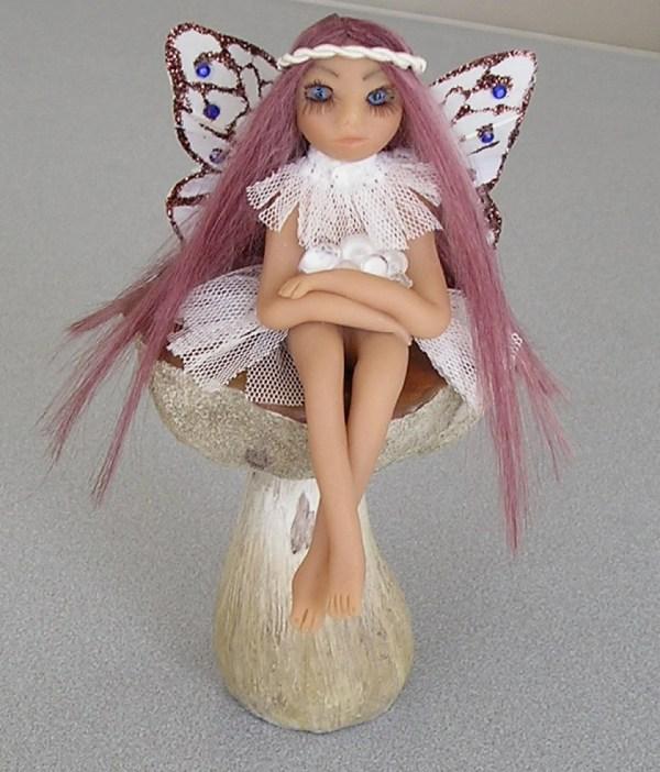 Polymer Clay OOAK Fairy Dolls