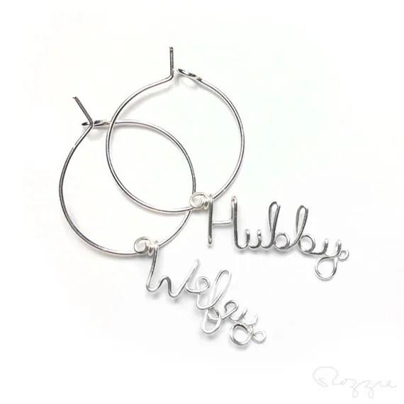 Items similar to Hubby and Wifey Wedding Favor, Wedding
