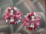 custom ohio state cheerleader girl