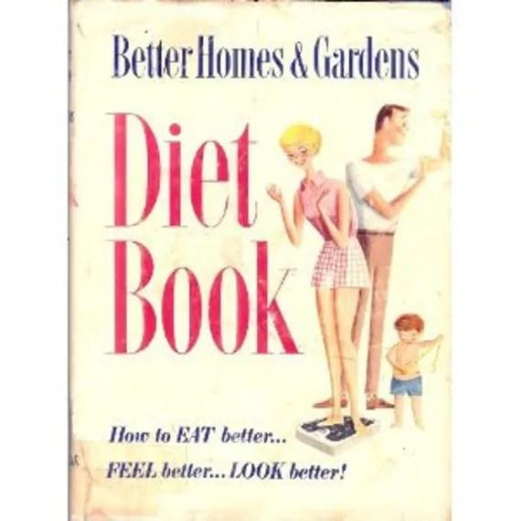 Mid Century/Book/ Better Homes & Garden Diet Book/1950s