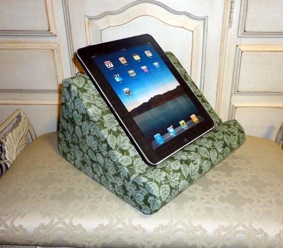 iPad Stand or Book Pillow Stand For Your Lap by SewInventive