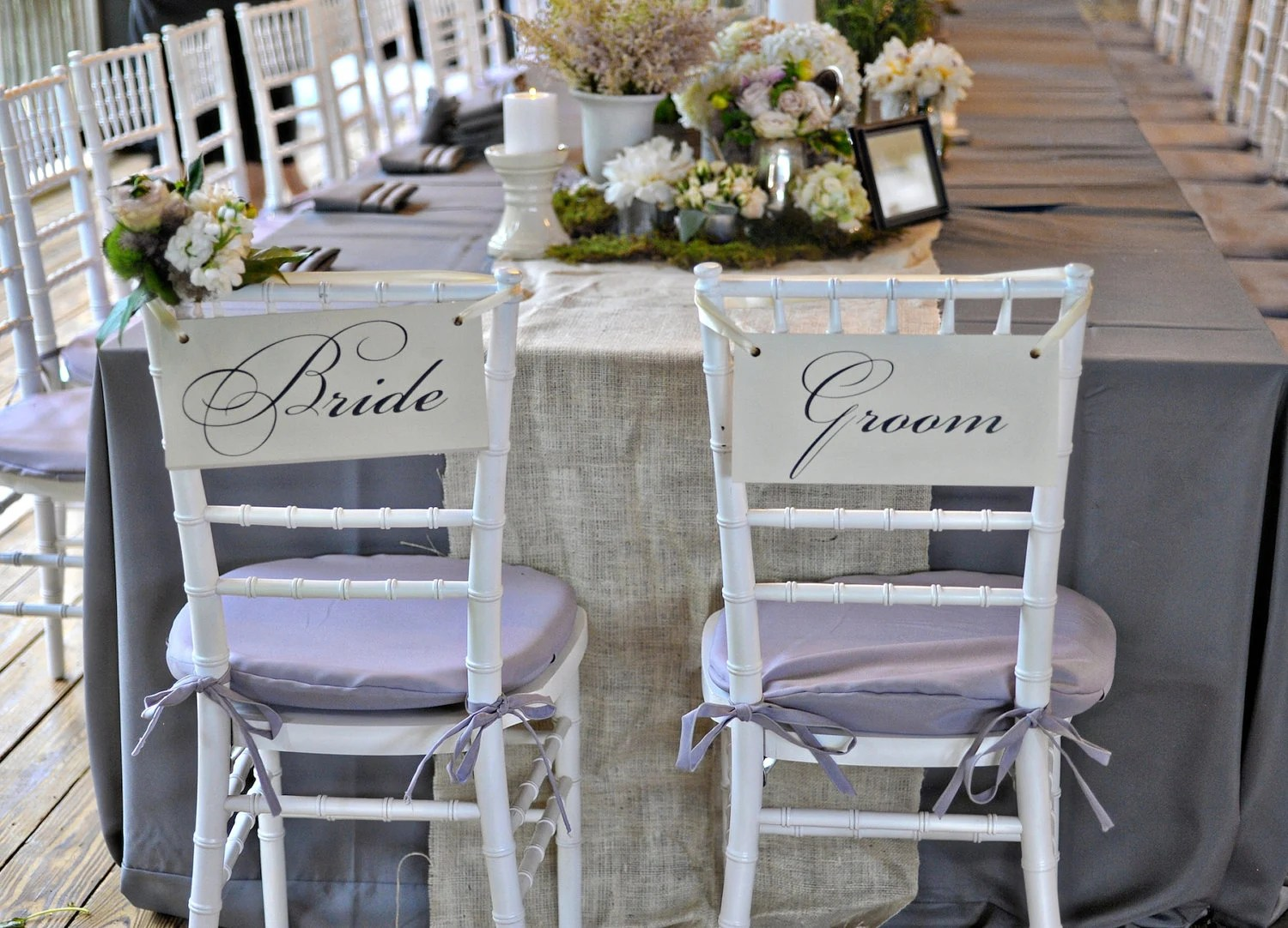 wedding bride and groom chairs dining room chair covers ebay uk signs or thank