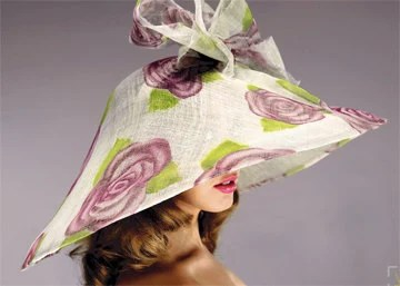 Purple Roses - formemillinery