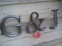 Wall Decor Large Letter Shabby Chic Wall Decor New Item