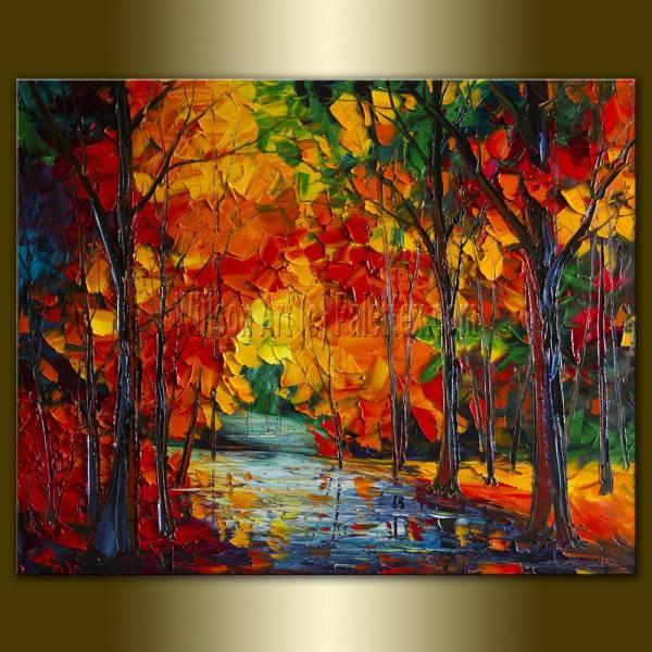 original landscape painting oil