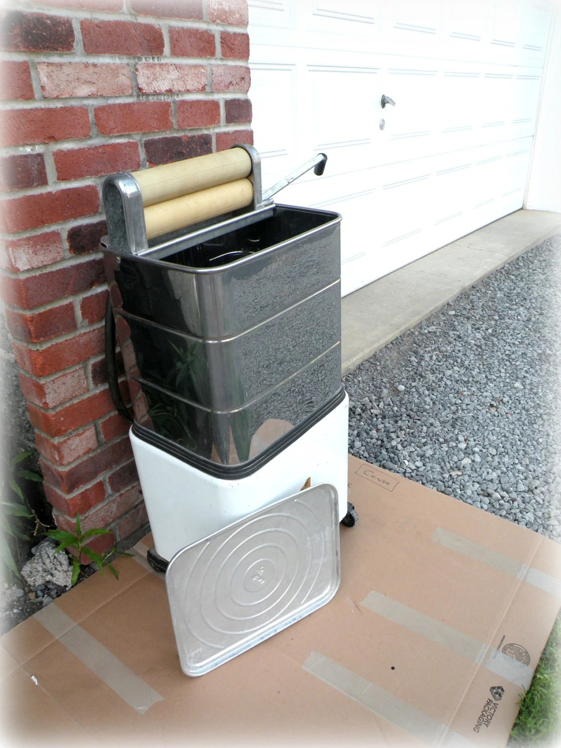 Portable Wringer Washer Top Loading Washing by UncommonRecycables