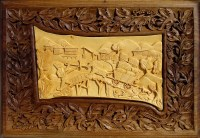Wall Art Wood Carving Art Wall Decor rustic cabin by ...
