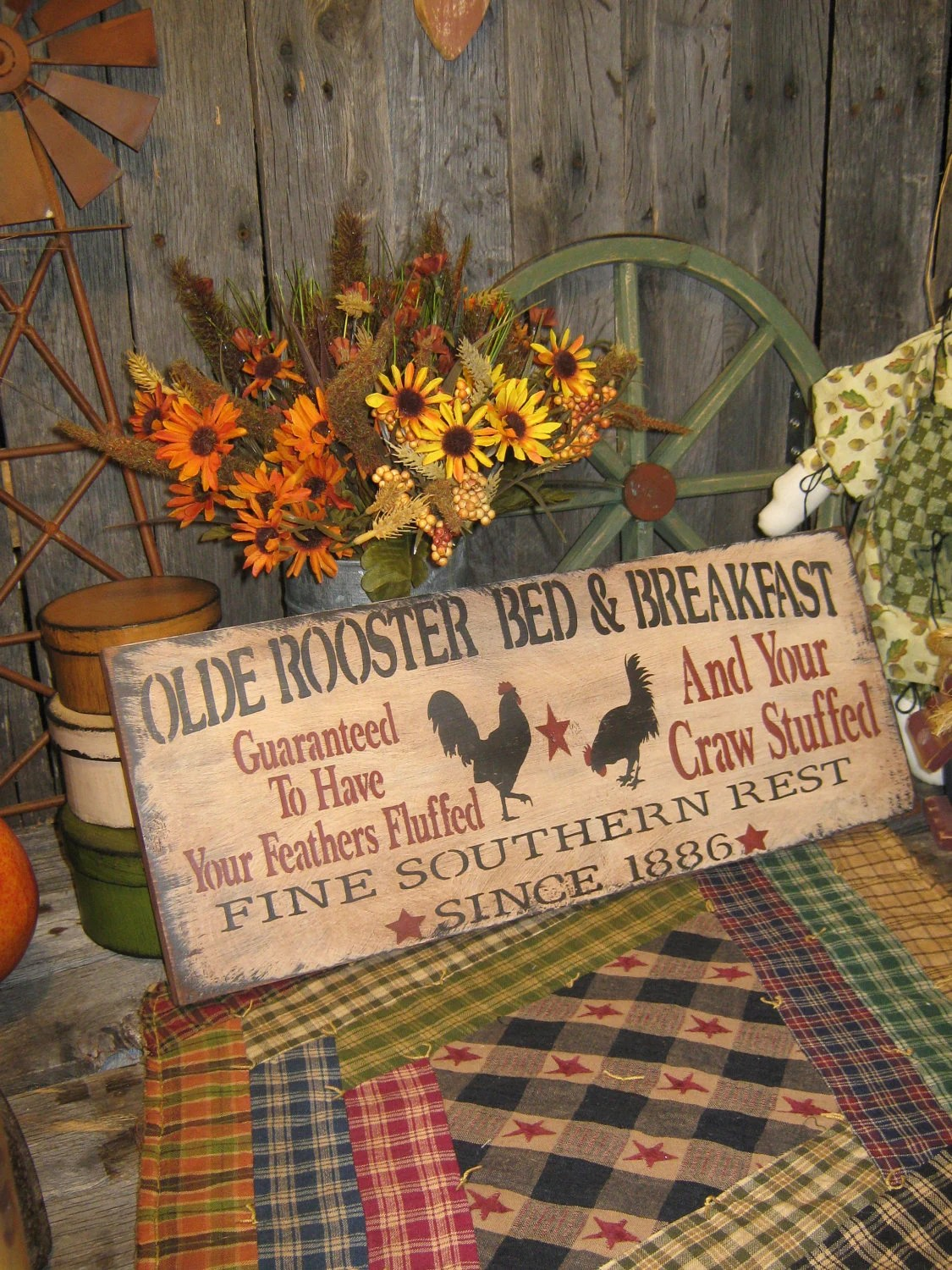 Kitchen Rooster Decor
