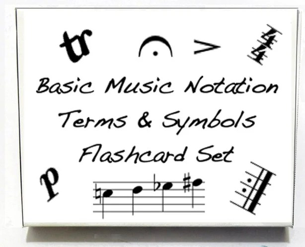 Music Notation Flashcards Brand new item. Fun for kids.