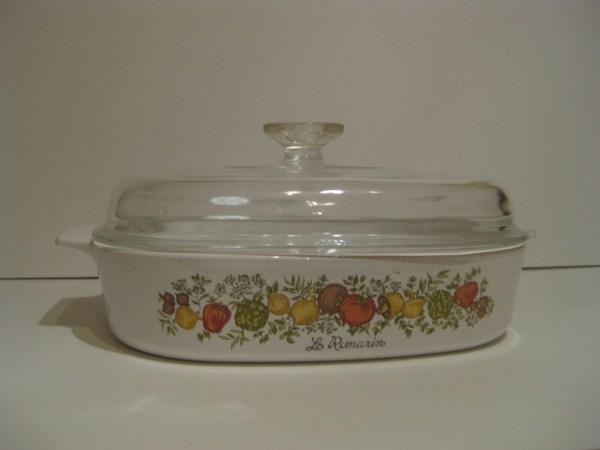 Corningware Spice Of Life Casserole Dish