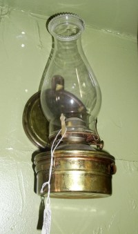 Vintage Wall Mounted Oil Lamp