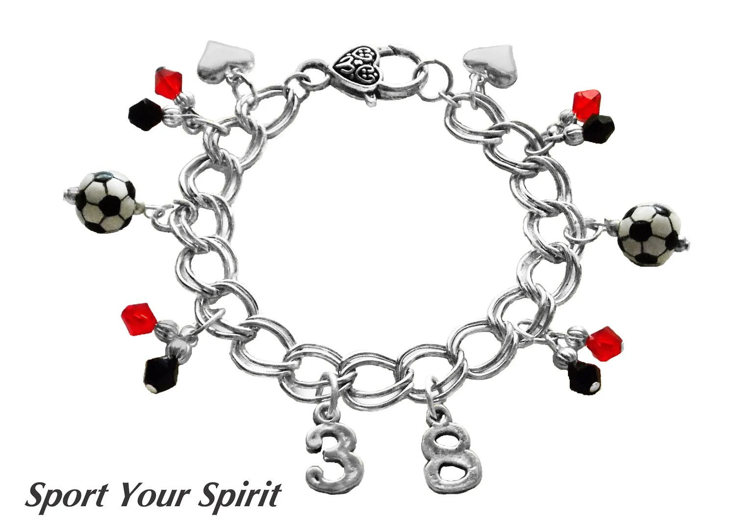 Items similar to Personalized Double Strand Soccer