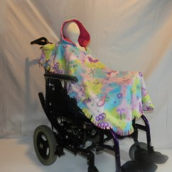 Wheelchair Blanket Home Depot Chair Legs Poncho Cover Rectangle Shaped