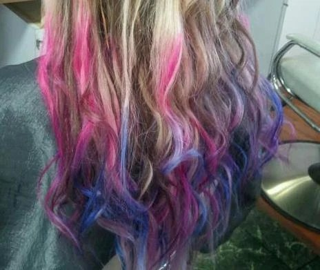 items similar to diy temp hair color chalk dip dye pick a color on etsy