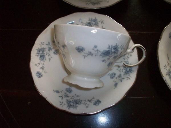 Tea Cups Saucers Set Johann Haviland Fine China