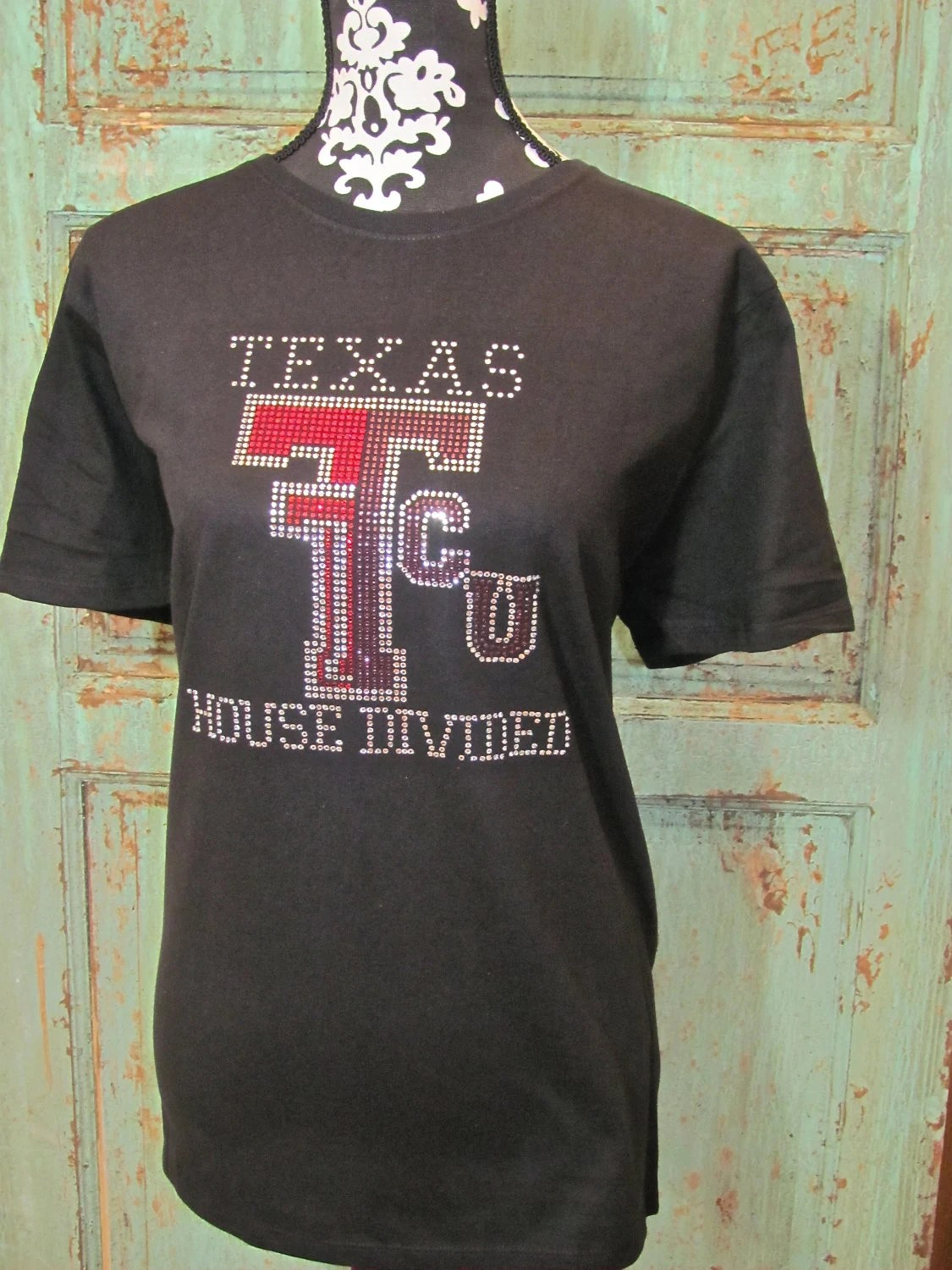 Items similar to College House Divided TShirt Short