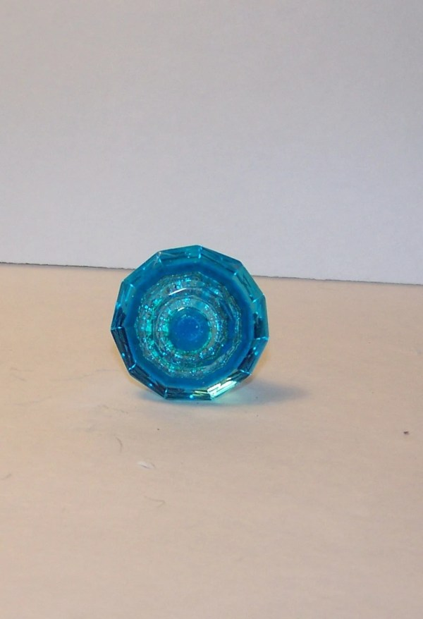 Bright Blue Dresser Knob-drawer Pull