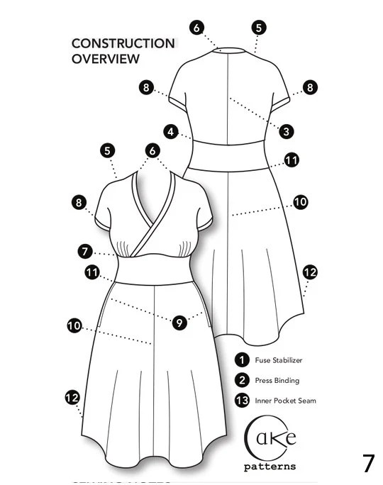 Tiramisu Knit Dress Cake Patterns 0144