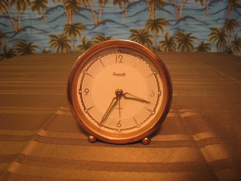 Alarm clock nightstand by MechanicalBonsai on Etsy