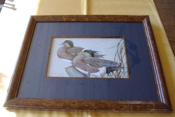Duck Print Art Lamay