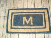 Personalized Front Door Mat by TheCottageDoors on Etsy