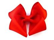 big red hair bow baby toddler girl