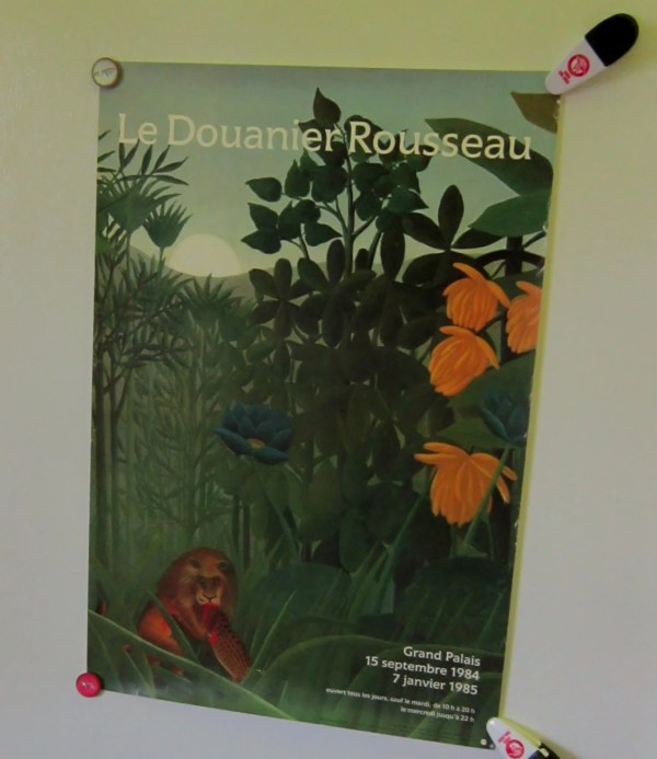 Vintage French Museum Exhibit Poster Metropolitan Of