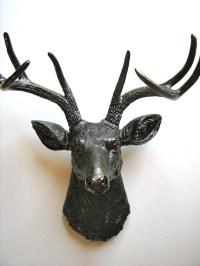 Faux Taxidermy Deer Head Deerman the Animal Head wall hanging