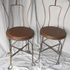 Ice Cream Parlor Chairs Swinging Outdoor Chair Vintage