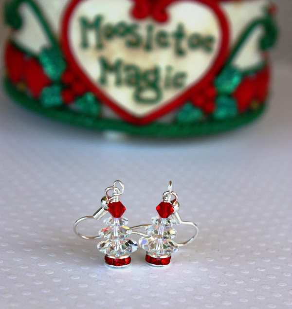 Christmas Tree Earrings Christmas Earrings Christmas Jewelry