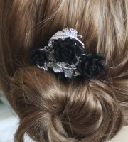 hold paige gothic wedding hair