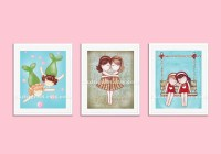 Wall Art For Toddler Girls