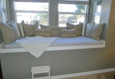 How To Make Bay Window Seat Cushions