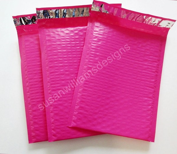 Hot Pink Poly Mailers Shipping Envelopes