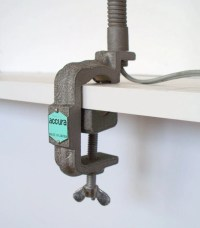 Industrial Gooseneck Lamp Steampunk Clamp Lamp by