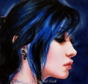 watercolor portrait painting beautiful